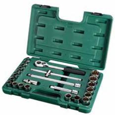 Beli Kunci Socket Set 24 Pcs 1 2 Inch 09060 6 Sata Tools Secara Angsuran