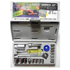 Kunci Socket Wrench Pas Sok Shock Sock Set 21 Pcs