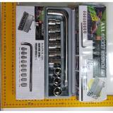 Promo Kunci Sok 10 Pcs Kunci Sock Set 10 Pcs Socket Wrench Set 10 Pcs No Brand