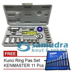 Harga Kunci Sok Sock Set 21 Pcs Kunci Ring Pas Set Kenmaster 11 Pcs Online