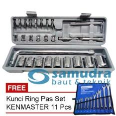 Toko Kunci Sok Sock Set 27 Pcs Kunci Ring Pas Set Kenmaster 11 Pcs Online Jawa Barat