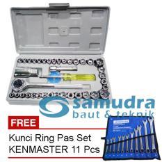 Pusat Jual Beli Kunci Sok Sock Set 40 Pcs Kunci Ring Pas Set Kenmaster 11 Pcs Jawa Barat
