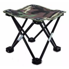 Kursi Lipat Ringan Santai Camping Mancing Piknik Travel Mini Folding Chair