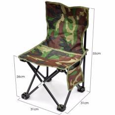 Kursi Lipat Sandaran Untuk Mancing, Camping & Santai - Army