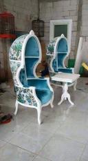 Kursi Payung/ Kursi Syahrini / Kursi Teras / Sofa/ Mebel Furniture Jepara Jakarta