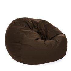 Beli Kursi Santai Bean Bag Oval Choclate Brown Cover Only Bean Bag Murah Kursi Pantai Murah Di Indonesia