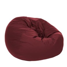 Kursi santai Bean Bag Oval - Maroon (Cover only) / kursi pantai / furniture