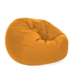 Kursi santai Bean Bag Oval - Orange (Cover only) / bean bag murah / kursi pantai
