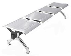 Kursi Tunggu - Public - Waiting Chair Fantoni F7033/4SE - Silver