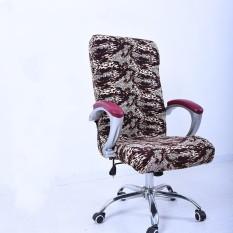 L Spandex Kantor Kursi Cover Sarung Penutup Sandaran Tangan Penutup Kursi Komputer Stool Kursi Putar Elastis (Kursi Tidak Termasuk) -Intl