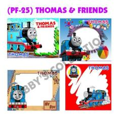 Label Frame Foto Thomas & Friends (Kode: PF-25)