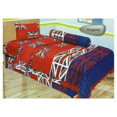 Lady Rose Disperse England Sprei Set 120x200x20