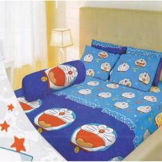 Lady Rose Doraemon Sprei Set 160x200x20cm (Queen Size) - Bantal 2