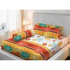 Promo Lady Rose Klase Sprei Set 180X200X20Cm King Size Bantal 2 Akhir Tahun