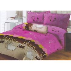 Spek Lady Rose Love In Paris Sprei Set Single 120X200X20 Indonesia