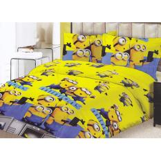 Lady Rose Minions Sprei Set 160x200x20cm - Bantal 2