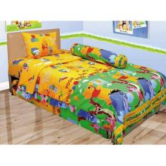 Toko Lady Rose Pooh Sprei Set Super Single 100X200X20Cm Termurah Di Indonesia