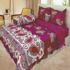 Beli Lady Rose Sprei King Bantal 4 Motif Marbella 180X200 Cm Di Indonesia