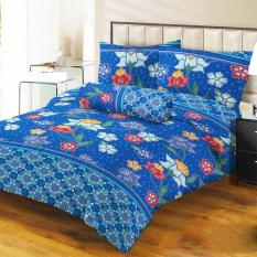 Promo Lady Rose Sprei King Motif Kalibiru 180X200 Cm Lady Rose Terbaru