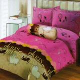 Jual Lady Rose Sprei King Motif Love In Paris 180X200 Cm Lady Rose Online