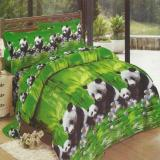 Kualitas Lady Rose Sprei King Motif Panda 180X200 Cm Lady Rose