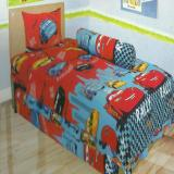 Review Lady Rose Sprei Single Motif The Cars 120X200 Cm Lady Rose