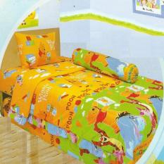 Tips Beli Lady Rose Sprei Small Single 100X200 Cm Motif Pooh
