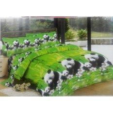 Ladyrose 3D Panda Sprei 180X200X20 Ladyrose Murah Di Indonesia