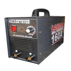Lakoni Mesin Las Inverter Falcon 161GE MMA Genset - Hitam