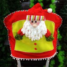Penutup Kursi Dekorasi Natal Hadiah Ornamen Sinterklas (aneka Warna) LALANG