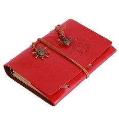 Toko Lalang Retro Loose Leaf Halaman Kosong String Notebook Jurnal Diary S Merah Terdekat