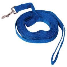 Ulasan Mengenai Lalang Safety Pet Lead Leash Recall Long Training Obedience Rope 4 5M Blue
