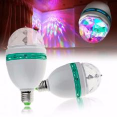 Lamp LED Full Color Rotating Lamp - LED Mini Party Light Lampu Disko - 1 pc