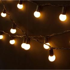 Lampu Anggur / Small Round String Lamp / Lampu Hias Tumblr Premium Quality Warna Warm White untuk Dekorasi dan Foto