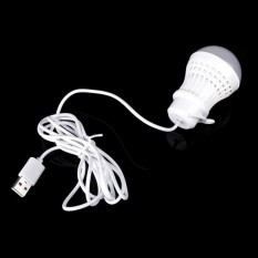 lampu Bohlam LED 5W USB Lampu Tenda Lampu Power Bank USB Bulb