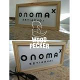 Lampu Box 40X20Cm Woodpeckerwood Diskon 50
