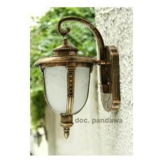 Lampu Dinding Pilar Pancing Antik Klasik G01