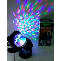 LAMPU DISCO SUNPRO S-009 LED PANGGUNG MINI LAMPU PESTA PARTY