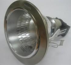 Lampu Downlight Plafon/Ceiling Philips 66661 Nikel