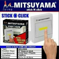 Lampu Emergency LED COB Mitsuyama MS 8508 Stick N Click