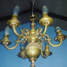 Lampu Gantung Antik Bahan Kuningan BARANG ANTIK JADUL KUNO LANGKAH