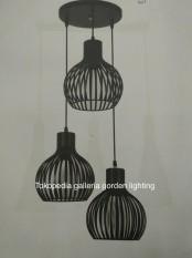 lampu gantung hias dekorasi minimalis ruang tamu - meja makan 7209/3