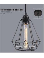 lampu gantung hias dekorasi vintage cafe 00118-120BP