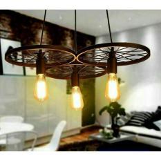Lampu hias gantung tiga rodaIDR1300000. Rp 1.500.000