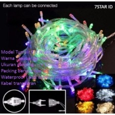 Lampu LED Tumblr 7STAR 10 Meter Packing Box - Tumblr Lampu Hias Dekorasi + Ada Colokan