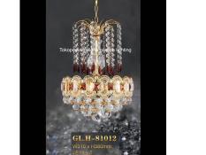lampu hias gantung kristal dekorasi ruang tamu 81012/310