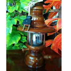 lampu gantung hias kayu jati antik unik