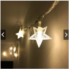 Lampu Hias Natal bentuk Bintang/ Lampu Tumblr /Tumblr LIght /5 Meter + sambungan