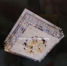 lampu hias plavon kristal minimalis dekorasi ruang keluarga 534/50x50