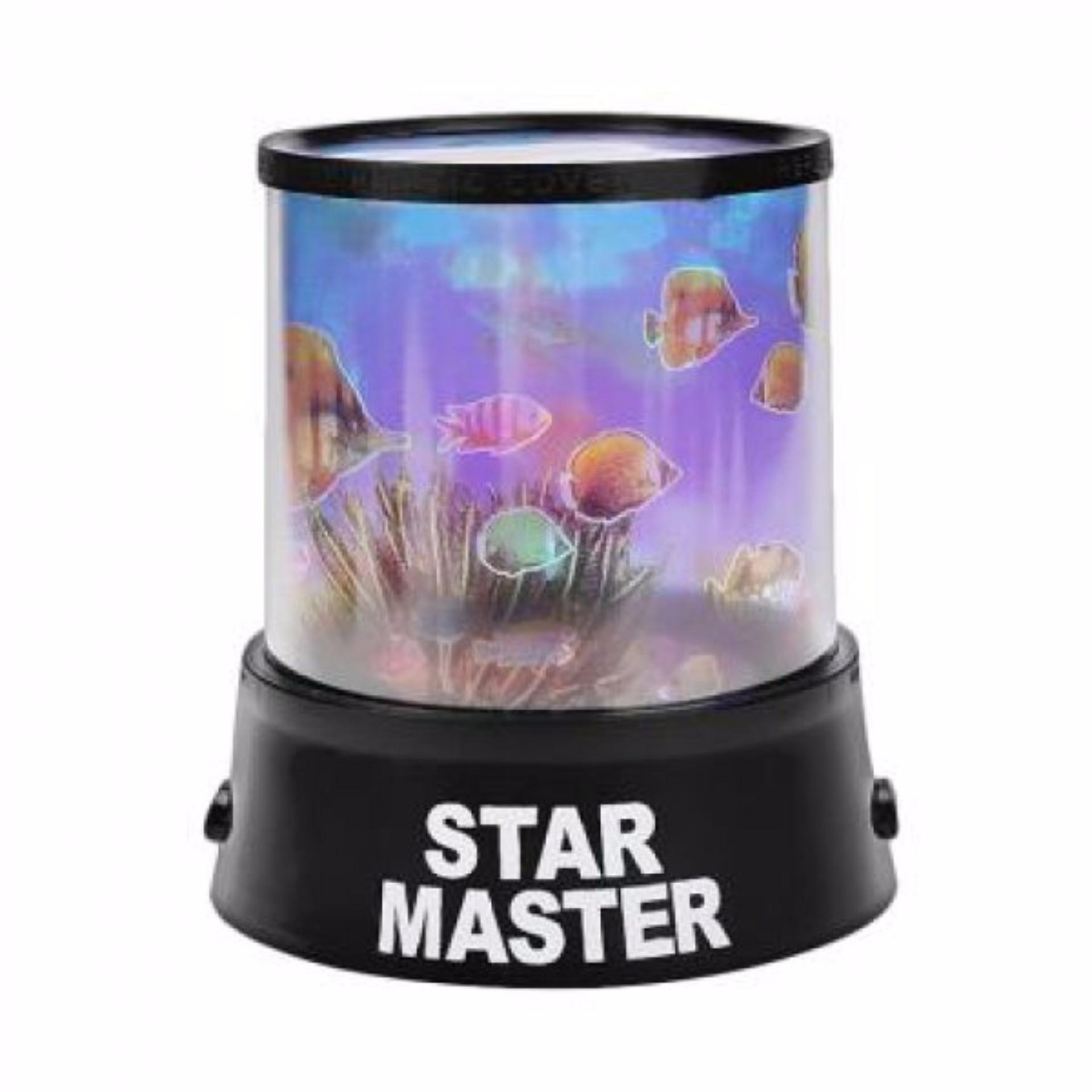 Lampu Hias Proyektor Star Master / Lampu Kamar Tidur - Aquarium